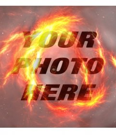 Filter fire to make your photos look like being on fire