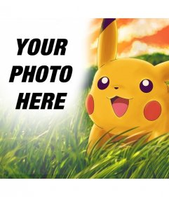 Photo effect to add to Pikachu in your photo online