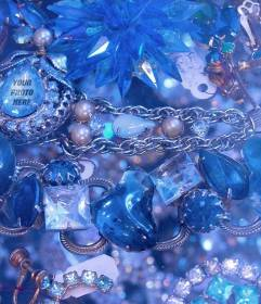 Game to find your face in one of these blue diamonds and gemstones
