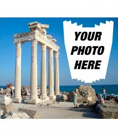 Postcard of Antalya for your photos