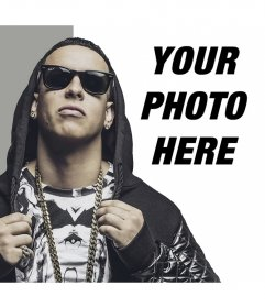 Photo effect to put your photo next to Daddy Yankee for free