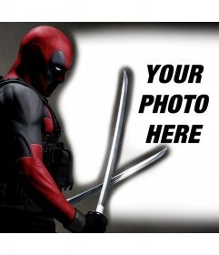 Deadpool in your photos with this free photo effect to edit