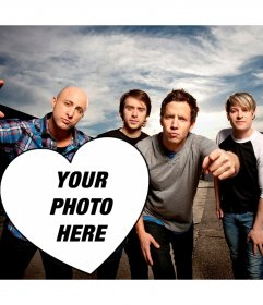 Your photo with Simple Plan guys