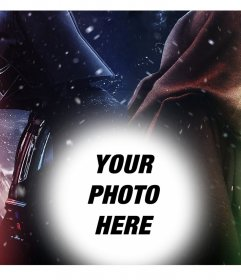 Original Star Wars effect where you can load your photo