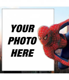Spiderman Photo effect to edit with your picture