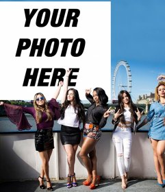 Join to the girls of Fifth Harmony uploading your photo for free