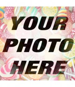 If you like sweets then add this online filter to your photos