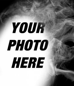 Add smoke to your photos with this online photo effect