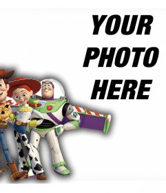 Toy Story characters on your photos with this online effect
