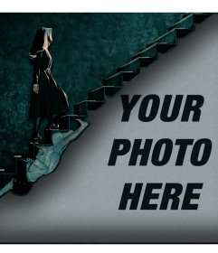 Upload your photo to this effect of American Horror Story