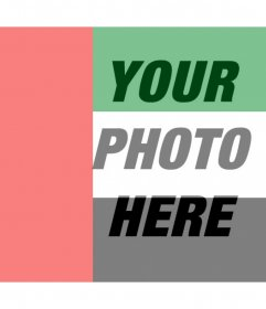Effect of Arab Emirates Flag on your images