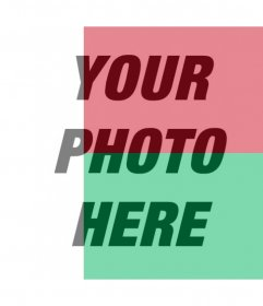 Photo effect to put the flag of Madagascar on your photo