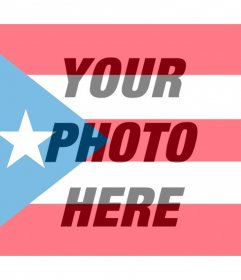 Puerto Rico flag images for your photo