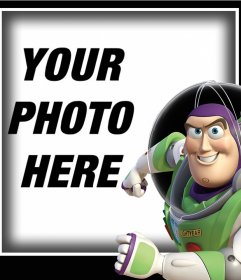 Photo effect with Buzz Lightyear to upload a photo