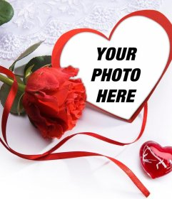 Make a nice gift to your couple with this love photo effect
