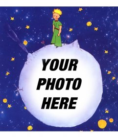 Image of The Little Prince story to modify with your photo online
