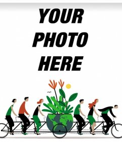 Effect to your profile picture to celebrate Earth Day