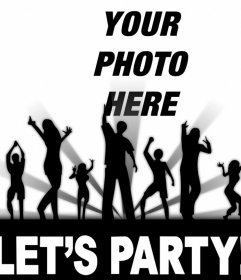 If you like to party then edit this free photo effect