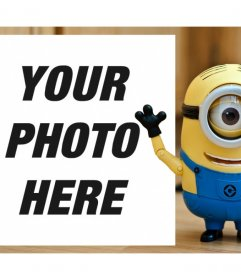 Photo effect of a Minion to upload your photo