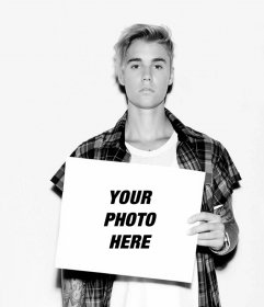 Justin Bieber photo effect to put your photo