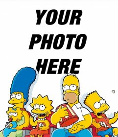Photo effect of The Simpsons to upload your photo