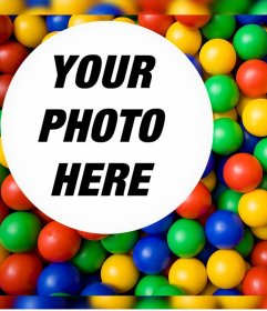 Colorful photo effect to upload your favorite photo