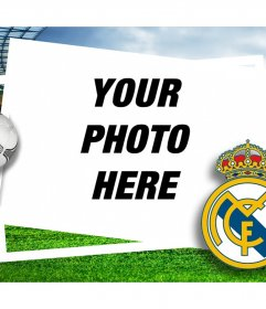 Real madrid shield to add to your photos