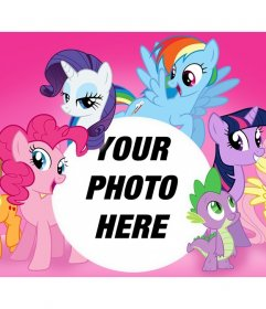My Little Pony photo effect to upload a photo