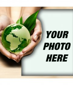 Promote the care for nature with this photo effect