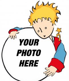 Effect of The Little Prince to upload a photo for free