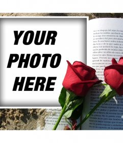 Romantic photo effect to show your love for someone