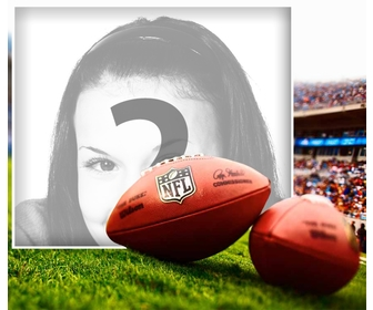 Edit this photo effect of an NFL football