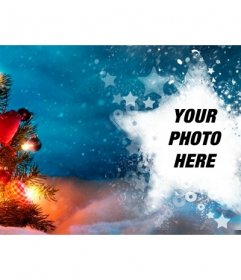 Christmas photo cover for Facebook