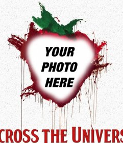 Picture frame to be part of the Across The Universe poster