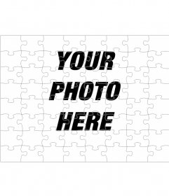 Photomontage to turn your photo into a puzzle