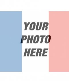 Photomontages with the French flag in your photo