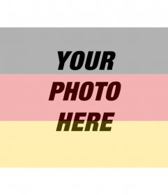 German flag filters to put on your photo