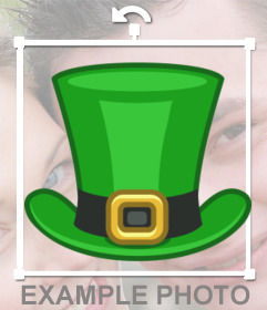 Effects, hats and decorations for St. Patrick's day