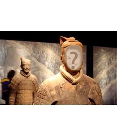 Terracotta warriors photomontage to put your photo