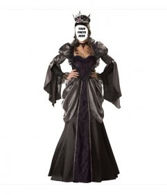 Photomontage of Queen Halloween costume to put your face in