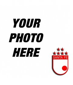 Put your picture with the shield of Santa Fe Independent