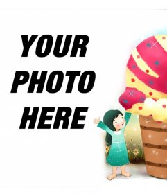 A sweet effect for the photo of children