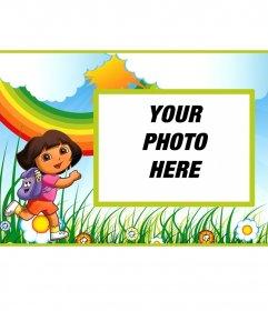 Childrens Birthday Invitation of Dora