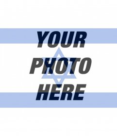 Flag of Israel to put in your profile photo