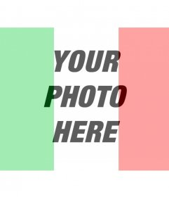 Flag of Italy photo montages online