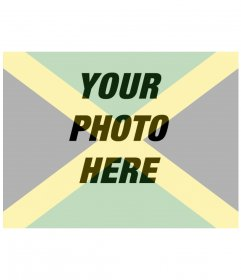 Collage to put the Jamaican flag together with your photo