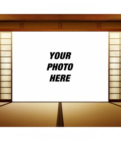 Japanese Photomontage to put your photo