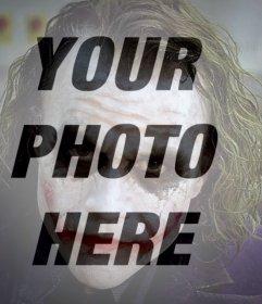 Joker filter for your photo online