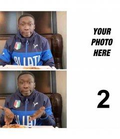 Meme of Khaby Lame, Tik Tok troll