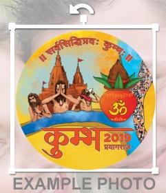 Kumbh Mela logo to put on your photos